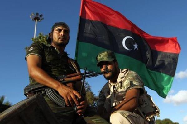 حمله نیروهای آتشفشان خشم به نیروهای حفتر در جنوب طرابلس