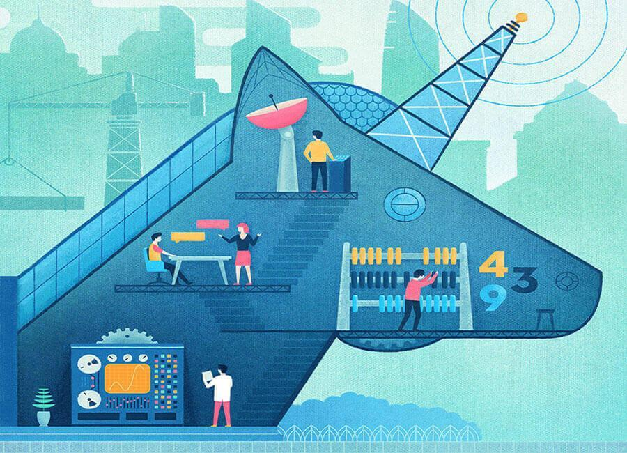موج جدید استارتاپ های یونیکورن در راهند